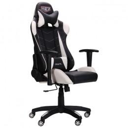 Кресло VR Racer Blade черный/белый AMF