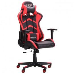 Кресло VR Racer Blaster черный/красный AMF