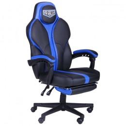Кресло VR Racer Edge Titan черный/синий AMF