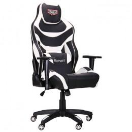 Кресло VR Racer Expert Virtuoso черный/белый AMF