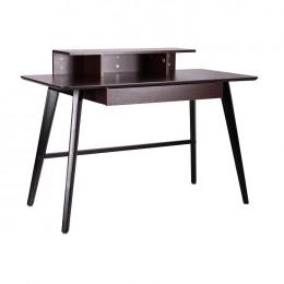 Компьютерный стол Bulgakov черный/орех темный AMF
