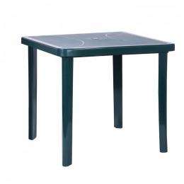Стол Nettuno 80х80 пластик зеленый 15 AMF
