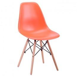 Стул Aster PL Wood Пластик Оранжевый AMF