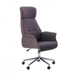 Кресло Brooklyn ткань серая AMF