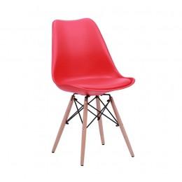 Стул Aster Wood Пластик Красный AMF