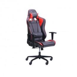 Кресло VR Racer Shepard черный/красный(рэйсер) AMF