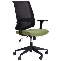 Кресло Carbon (Карбон) LB черный/зеленый AMF