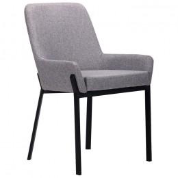 Кресло Charlotte (Шарлотт) черный/серый AMF
