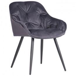 Кресло Gabriel (Габриэль) black/monsoon gray AMF