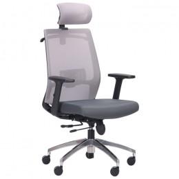 Кресло Install (Инстал) Black, Alum, Grey/Grey AMF