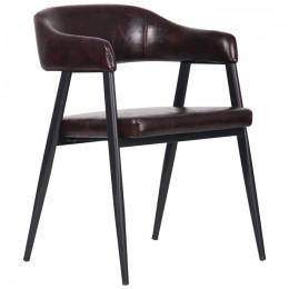 Кресло Ramones (Рамоунз) dark brown AMF