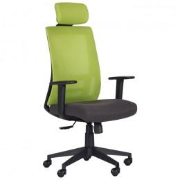Кресло Scrum (Скрам) лайм/черный AMF