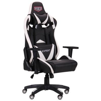 Кресло VR Racer Expert Guru черный/белый AMF
