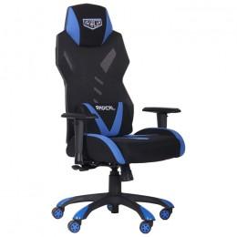 Кресло VR Racer Radical Krios черный/синий AMF