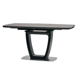 Стол обеденный RAVENNA DARK GREY (Равенна Дарк Грей) МДФ стекло 140см Concepto
