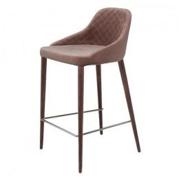 Барный стул хокер Elizabeth (Элизабет) шоколад Concepto