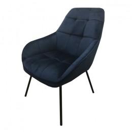 Кресло-лаунж MORGAN (Морган) глубокий синий Concepto