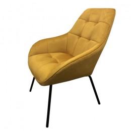 Кресло-лаунж MORGAN (Морган) желтый кари Concepto