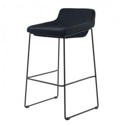 Барный стул хокер Comfy (Комфи) серый Concepto
