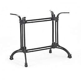 База стола чугун (опора) Double-Ray (Дабл-Рэй) черный Concepto