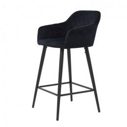 Барный стул хокер Antiba (Антиба) черный Concepto