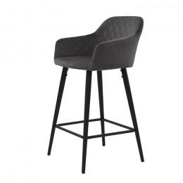 Барный стул хокер Antiba (Антиба) темно-серый Concepto