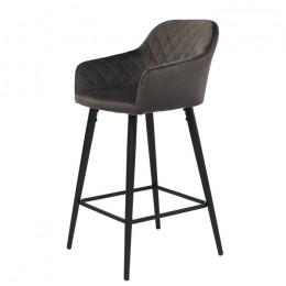 Барный стул хокер Antiba (Антиба) серо-коричневый Concepto