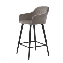 Барный стул хокер Antiba (Антиба) пудровый серый Concepto