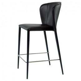 Барный стул хокер Arthur (Артур) черный Concepto