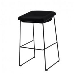 Барный стул хокер Coin (Коин) черный Concepto