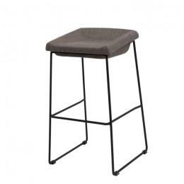 Барный стул хокер Coin (Коин) серый Concepto