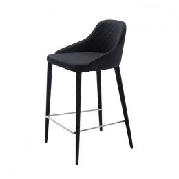 Барный стул хокер Elizabeth (Элизабет) черный Concepto