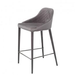 Барный стул хокер Elizabeth (Элизабет) теплый серый Concepto
