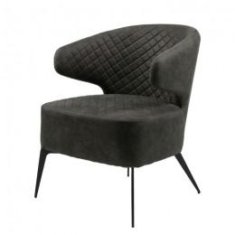 Кресло-лаунж Keen (Кин) нефтяной серый Concepto