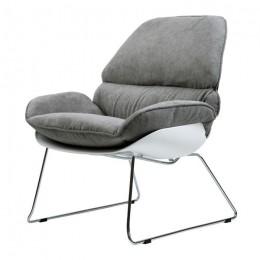 Кресло-лаунж Serenity (Серенити) серый Concepto