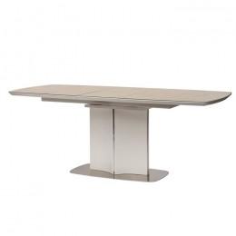 Стол обеденный Albury (Олбери) МДФ стекло 160см бежевый Concepto