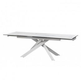 Стол обеденный керамический Gracio Straturario White (Грация Стратурарио Уайт) Concepto