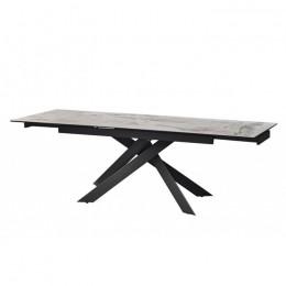 Стол обеденный керамический Gracio Light Grey (Грация Лайт Грей) Concepto