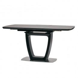 Стол обеденный Ravenna Dark Grey (Равенна Дарк Грей) МДФ стекло 120см Concepto