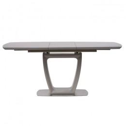 Стол обеденный Ravenna Matt Grey (Равенна Мет Грей) МДФ стекло 120см Concepto