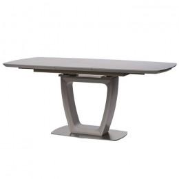 Стол обеденный Ravenna Matt Grey (Равенна Мет Грей) МДФ стекло 140см Concepto