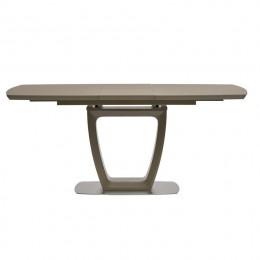 Стол обеденный Ravenna Matt Mocca (Равенна Мет Мокко) МДФ стекло 120см Concepto