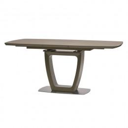Стол обеденный Ravenna Matt Mocca (Равенна Мет Мокко) МДФ стекло 140см Concepto