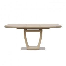 Стол обеденный Ravenna Sand (Равенна Сэнд) МДФ стекло 120см Concepto