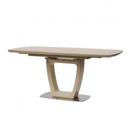 Стол обеденный Ravenna Sand (Равенна Сэнд) МДФ стекло 140см Concepto