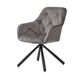 Кресло обеденное Cody (Коди) теплый серый Concepto