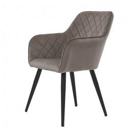 Кресло обеденное Antibа (Антиба) пудровый серый Concepto