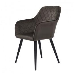 Кресло обеденное Antibа (Антиба) серо-коричневый Concepto