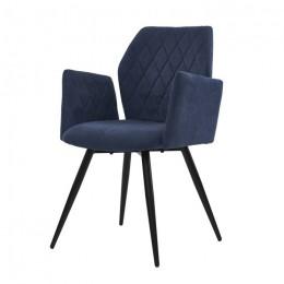 Кресло обеденное Glory (Глори) синий Concepto