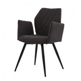 Кресло обеденное Glory (Глори) угольный серый Concepto